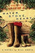 Water Stone Heart
