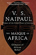 The Masque of Africa: Glimpses of African Belief (Vintage International) Cover