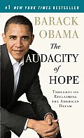 The Audacity of Hope: Thoughts on Reclaiming the American Dream (Vintage) Cover