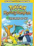 Pokemon Mystery Dungeon: Explorers of Sky: Prima Official Game Guide Cover