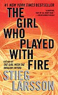 The Girl Who Played with Fire (The Millennium Trilogy #2) Cover