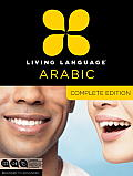 Living Language Arabic Complete Edition Beginner through advanced course including coursebooks audio CDs & online learning