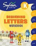 Pre K Beginning Letters Sylvan Workbooks