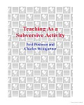 Teaching as a Subversive Activity Cover