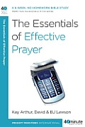 The Essentials of Effective Prayer Cover