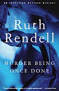 Murder Being Once Done Cover
