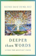 Deeper Than Words: Living the Apostles' Creed Cover