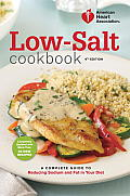 Low-Salt Cookbook: A Complete Guide to Reducing Sodium and Fat in Your Diet Cover