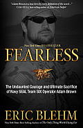 Fearless: The Undaunted Courage and Ultimate Sacrifice of Navy Seal Team Six Operator Adam Brown Cover