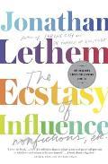 Ecstasy of Influence Nonfiction Etc