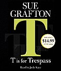 T Is for Trespass (Abridged) Cover