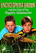 Encyclopedia Brown and the Case of the Slippery Salamander Cover