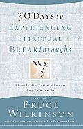 30 Days to Experiencing Spiritual Breakthroughs Cover