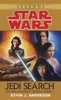 Star Wars: The Jedi Academy: Jedi Search: Volume 1 of the Jedi Academy Trilogy Cover