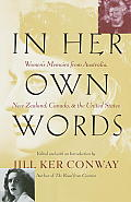 In Her Own Words: Women's Memoirs from Australia, New Zealand, Canada, and the United States Cover