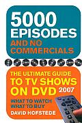 5000 Episodes and No Commercials: The Ultimate Guide to TV Shows on DVD Cover
