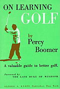 On Learning Golf: A Valuable Guide to Better Golf Cover