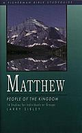 Matthew: People of the Kingdom Cover