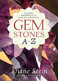 Gemstones a to Z: A Handy Reference to Healing Crystals Cover