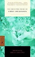 The Selected Poems of Emily Dickinson Cover