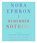 I Remember Nothing: And Other Reflections Cover