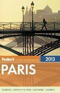 Fodors Paris 2013