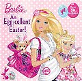 An Egg-Cellent Easter! (Barbie) (Barbie 8x8) Cover