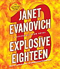 Explosive Eighteen: A Stephanie Plum Novel (Stephanie Plum Novels) Cover