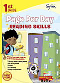 First Grade Page Per Day: Reading Skills