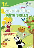 First Grade Page Per Day: Math Skills (First Grade Page Per Day) Cover