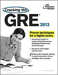 Cracking the GRE, 2013 Edition Cover