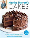 Martha Stewarts Cakes Our First Ever Book of Bundts Loaves Layers Coffee Cakes & more