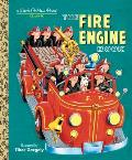 The Fire Engine Book (Little Golden Book Classic) Cover