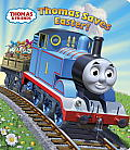 Thomas Saves Easter! (Thomas & Friends) (Glitter Board Book) Cover