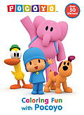 Coloring Fun with Pocoyo (Pocoyo) (Super Color with Stickers) Cover