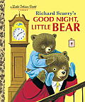 Richard Scarry's Good Night, Little Bear (Little Golden Book Series)