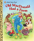 Old MacDonald Had a Farm (Little Golden Books) Cover