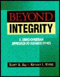Beyond Integrity A Judeo Christian App