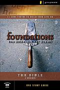 Foundations: The Bible: Small Group Study (Foundations) Cover