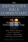 Psalms Proverbs Ecclesiastes Song of Songs Volume 5