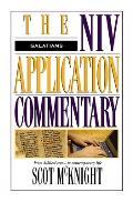 Galatians (NIV Application Commentary)