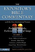 Expositors Bible Commentary Volume 5 Psalms Proverbs Ecclesiastes Song of Songs NIV