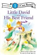 Little David and His Best Friend (Zonderkidz I Can Read: Level 1) Cover
