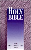 Bible NIV Holy Bible New International Version