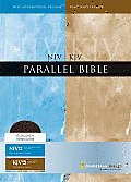 Niv Kjv Parallel Ed Burgundy