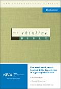 Bible Niv Green Thinline
