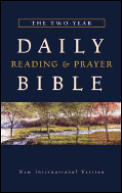 Bible Niv Two Year Daily Reading & Prayer