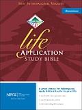 Bible NIV Burgundy Life Application Study