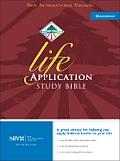 Bible Niv Black Life Application Study