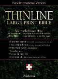 Bible Niv Thinline Bible Large Print